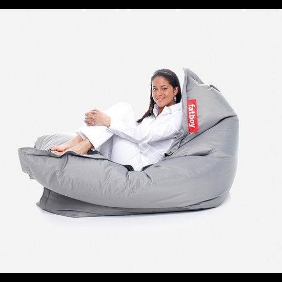 On A Smaller Scale But Bean Bag Chair Indeed
