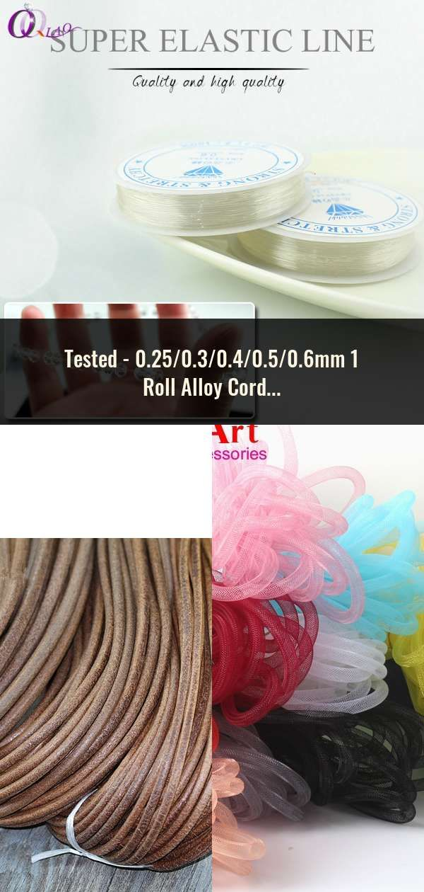 0 25 0 3 0 4 0 5 0 6mm 1 Roll Alloy Cord Silvery Goldrn Craft Beads Rope Copper Wires Beading Wire Jewelry Making
