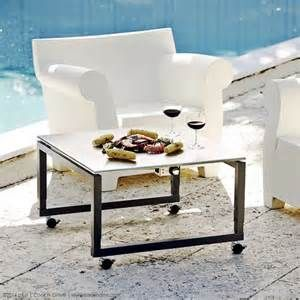 """height adjustable """"coffee"""" table that cooks teppanyaki style. 31.5"""" x 31.5"""" 