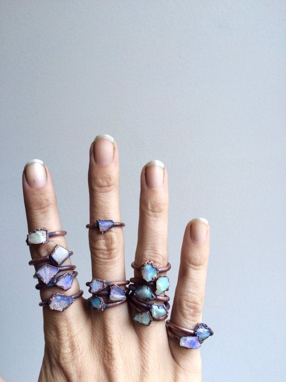 Hey, I found this really awesome Etsy listing at https://www.etsy.com/uk/listing/255084794/raw-opal-ring-raw-opal-gemstone-ring