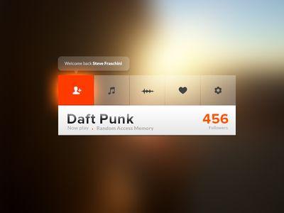 Soundcloud Nav