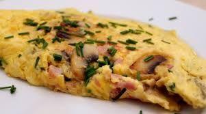 dieetrecept omelet met champignon en ham: beta dagen