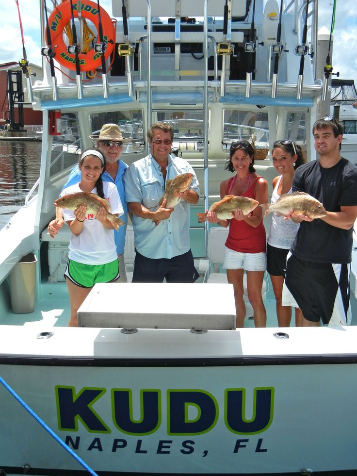 Pure florida fishing charter aboard kudu for Fish naples fl