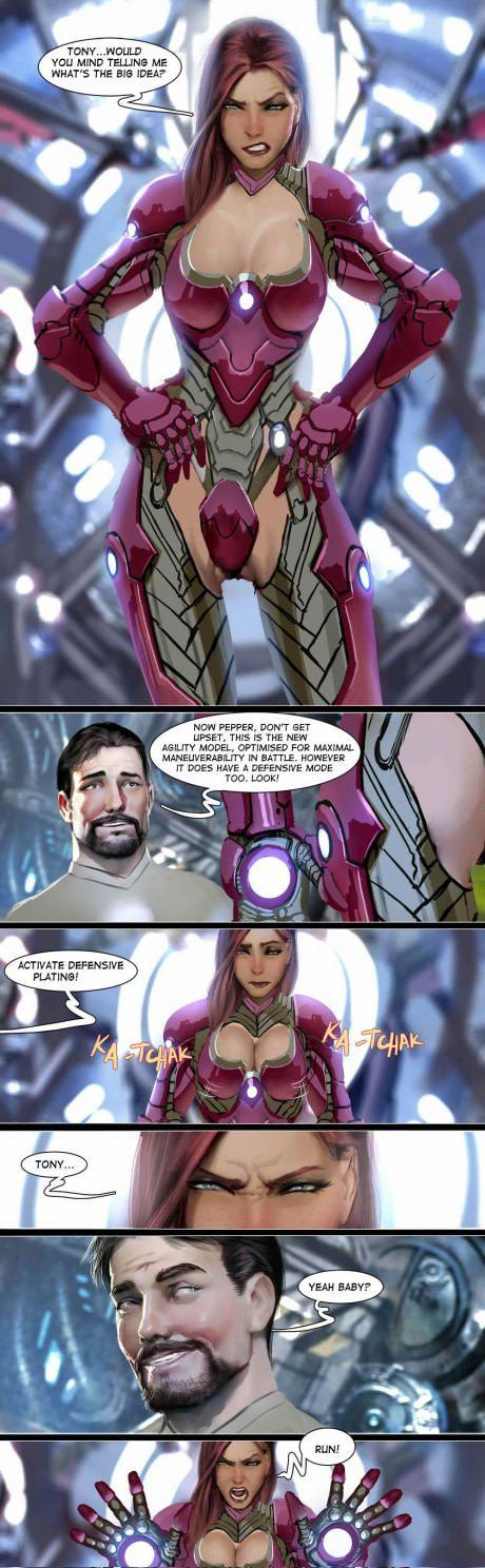 Stuff Tony Stark does when he's free..