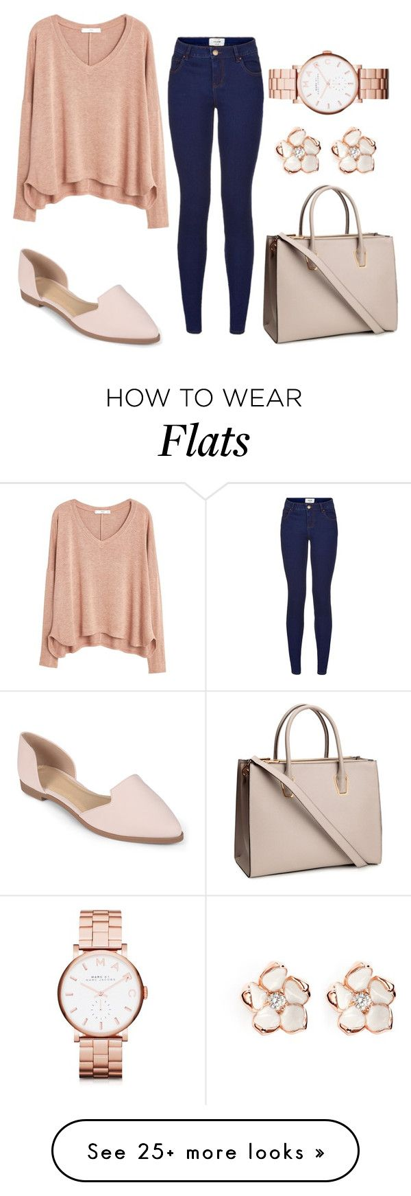 """Untitled #45"" by diianasilva on Polyvore featuring MANGO, Journee Collection, H&M, Marc by Marc Jacobs and Shaun Leane"