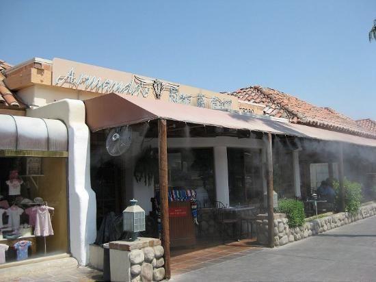 Armando's Dakota Bar on El Paseo in Palm Desert, CA. Closed due to fire 2014