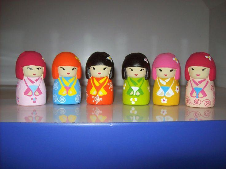 souvenir tempat pensil berbentuk kimidol jepang khas jogjakarta