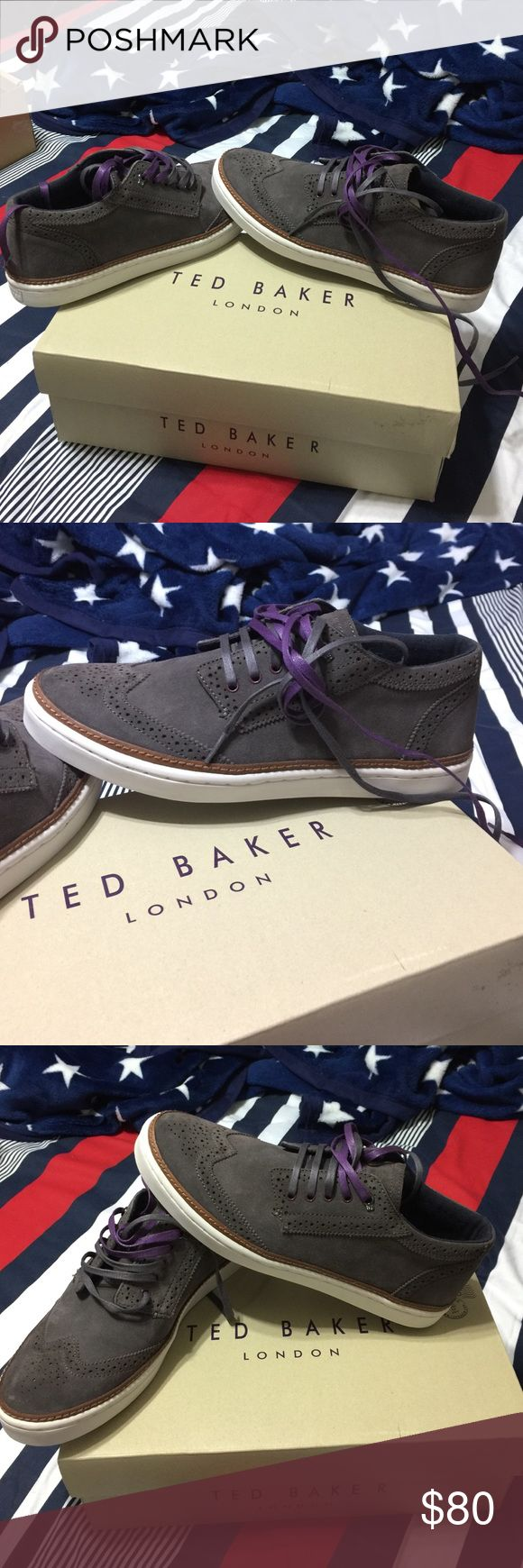 TED BAKER MEN SIZE 9 ORIGINAL TED BAKER SNEAKERS MEN SIZE 9 Ted Baker Shoes Sneakers
