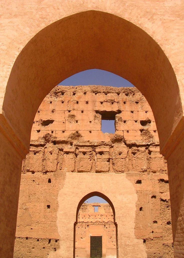 Palais el Badii, Marrakech, Morocco