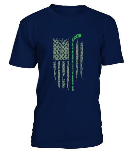 Golf American Flag Shirt