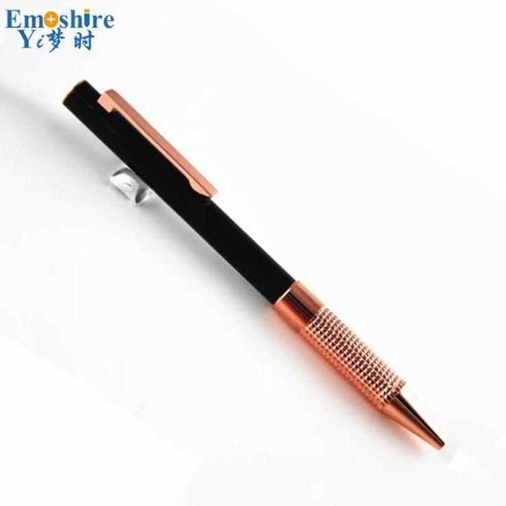 Wholesale and Retail Minimalism Superfine Ballpoint Pen Roller Ball Pen Rod Rotating Ballpen Writing Stationery Office Pen YI65