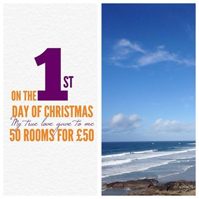 "The Esplanade Hotel - A Boxing Day sale to beat all others, we have 50 rooms for just £50. But be quick! You must book today to get this amazing offer. Offer is subject to availability and terms apply.   Please email reception@newquay-hotels.co.uk with the subject ""50 for £50"" to get your hands on this amazing offer!"