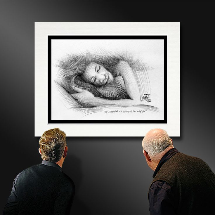 THE DREAMING - A conversation with God - Ian Anderson Fine Art http://ianandersonfineart.com/blog/