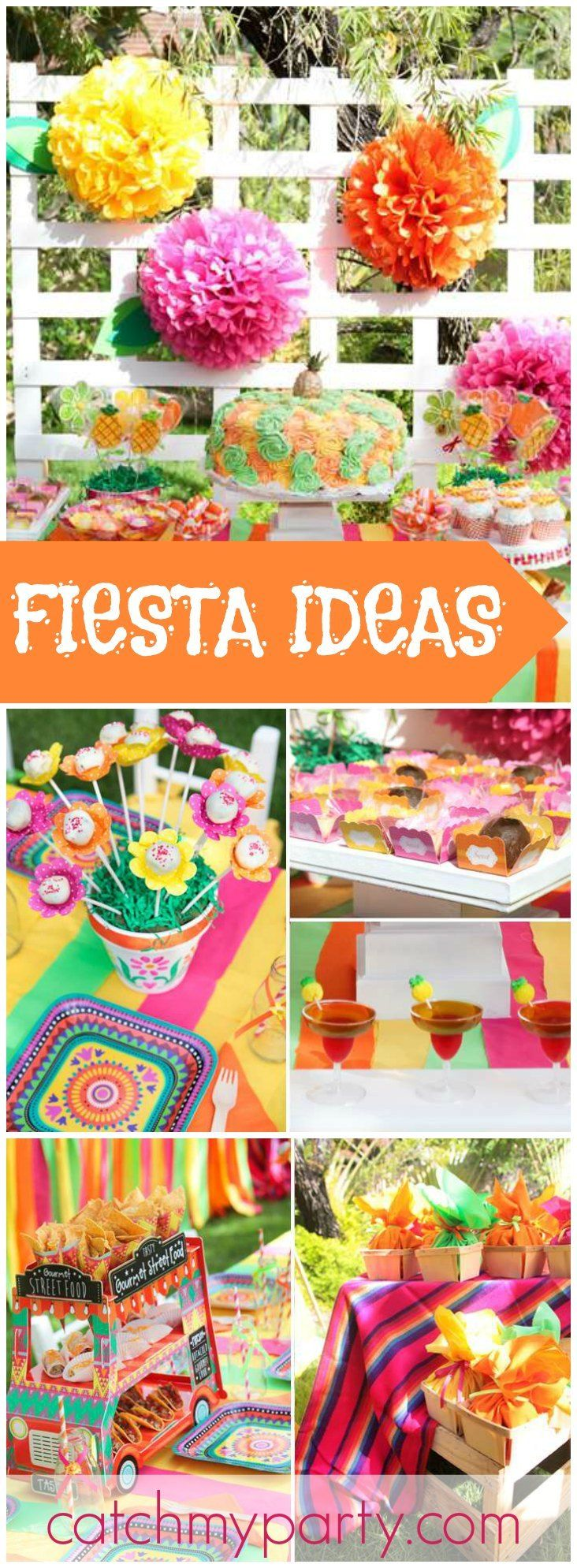 Mexican fiesta party decorating ideas hosting guide - Cinco De Mayo Birthday Mexican Fiesta Party