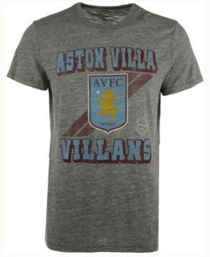 '47 Brand Men's Aston Villa Fc Crest Tri-State T-Shirt - Gray XXL