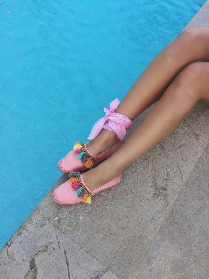 espadrillas rosa Via Vela