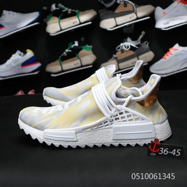 ff198b299fafdd PharrellAdidas NMD Human Race China Exclusive F99762 Gold Happy How To Buy  Sneaker