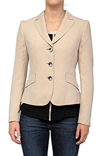 Basler Damen Blazer SAND, Farbe: Beige, Größe: 50   http://xxl.damenfashion.net/shop/basler-damen-blazer-sand-farbe-beige-groesse-50/