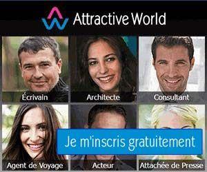 Attractive World : le site de rencontres haut de gamme pour célibataires exigeants.