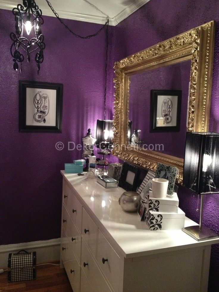 Purple Wall Bedroom Decor: 1000+ Images About Birthday On Pinterest