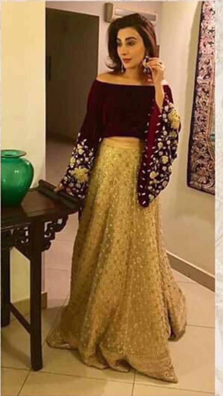 The 25 best pakistani dresses ideas on pinterest for Pakistani dresses for wedding parties