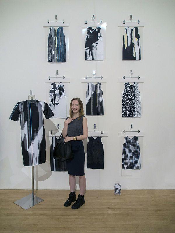 Cyan Jordan, Textile Design BA (Hons) Degree Show 2014, Nottingham Trent University, 06-06-14