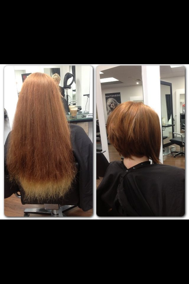 Makeover haircut/style / concave bob by AmberD