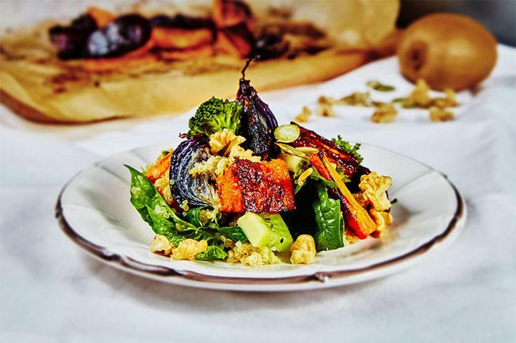 Roasted Quinoa Salad