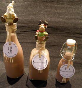 Liqueur de chocolat au Thermomix - La Maisonnette de Barbichounette/ Chocolate liquor recipe (in french)