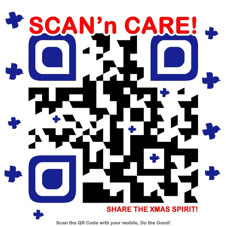 Be there! Scan and share!