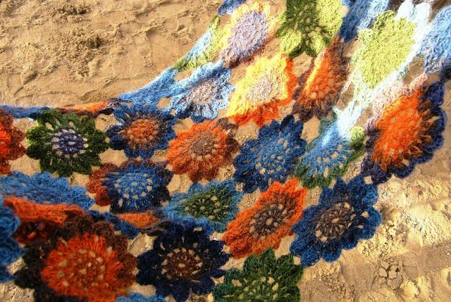 uháčkuj si vzory: japonské květy
