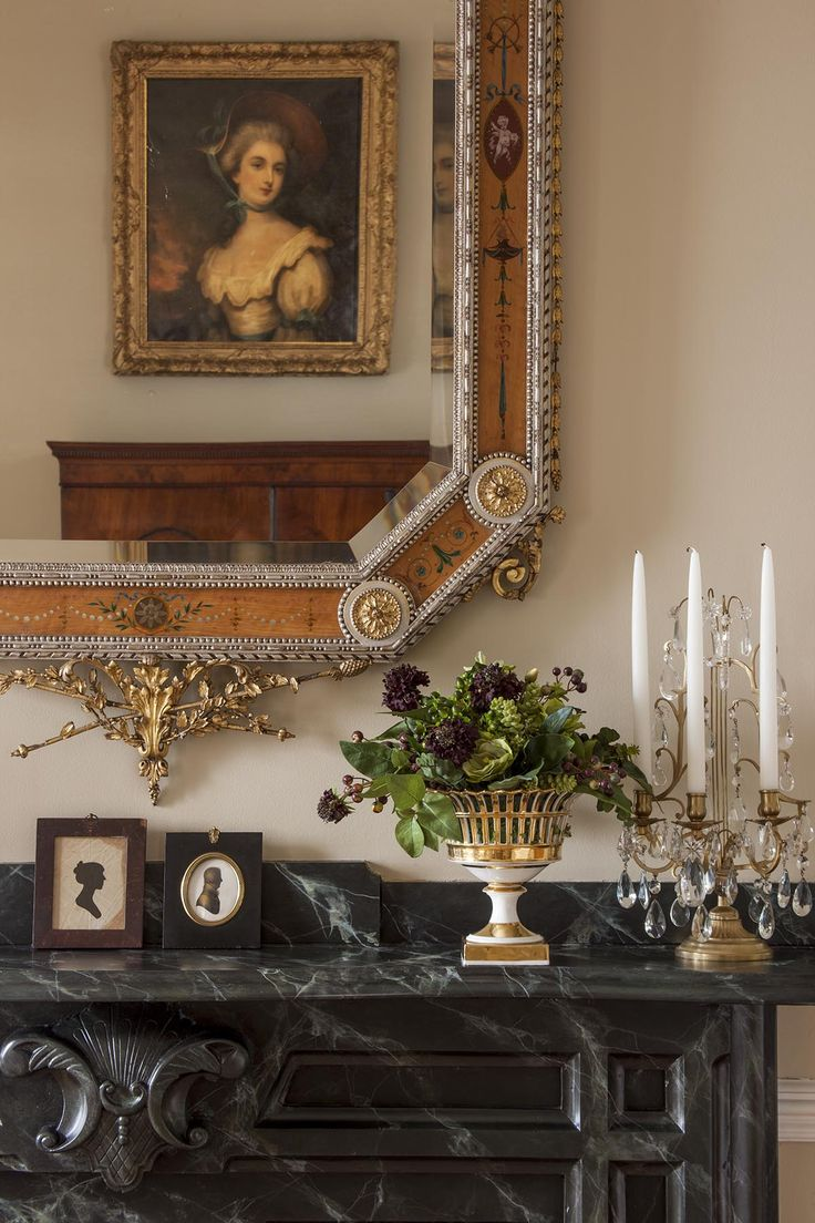 Interior designers in charleston sc - Gorgeous Antique Candelabra And Mantel Decor Located In A Charleston Historic Renovation Project Slc Interiors