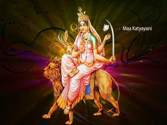 Navaratri day 6 - Katyayani