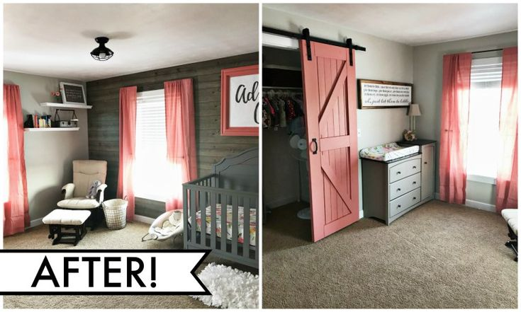 Rustic Baby Girl Nursery – No one puts Baby in the corner