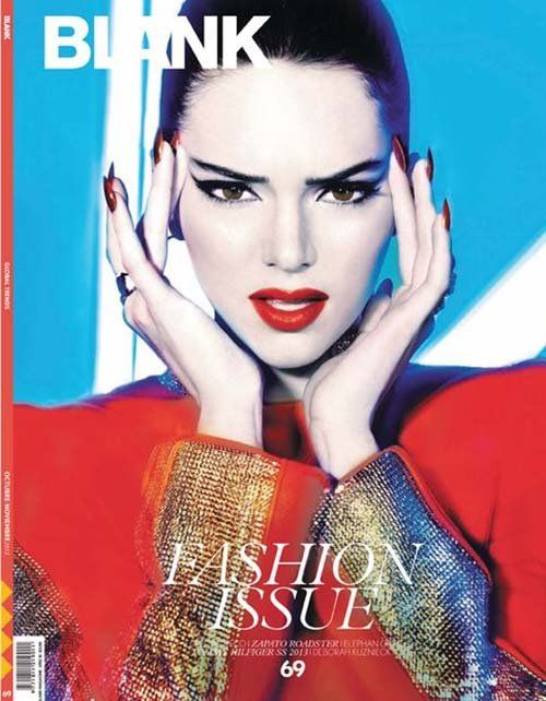 Celeb Diary: Kendall Jenner in revista Blank