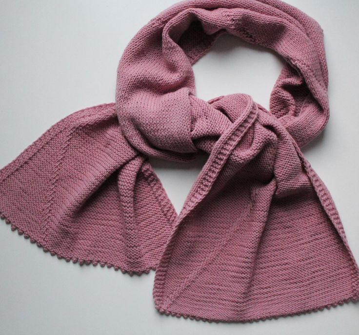 Rose scarf. Woolen Scarf. Long woolen Scarf. Knitted on Needles! by MamaGrandiosa on Etsy