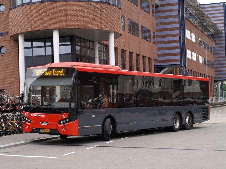 2011 VDL Citea met tandemas voor Connexxion in Hilversum