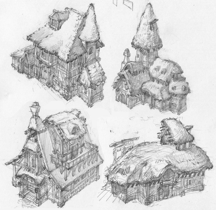 Architecture Blueprints Art 392 best d reference prop architecture images on pinterest | game