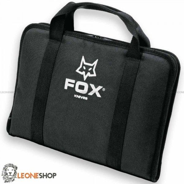 "FOX KNIVES Bag for Knives FODF1, bags, cases and sheaths for knives, bag of Balistic Nylon - Sizes 17.7"" x 11.8""  - Inside made of soft and refined material, zip closure - FOX KNIVES bag for knives really exceptional with quality materials, superior quality in all the components and also in the finishes."