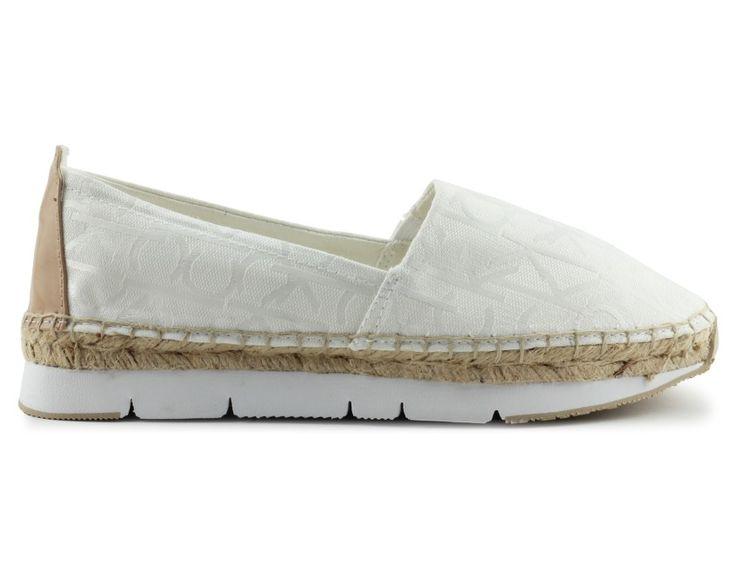 trampki calvin klein jeans re9611genna white/nat