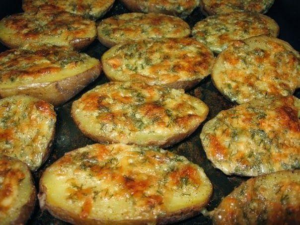Лучшие кулинарные рецепты: Чесночная картошка