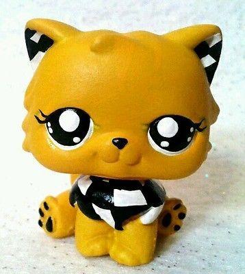 Taxi Cab Critter Cat * OOAK Custom Littlest Pet Shop