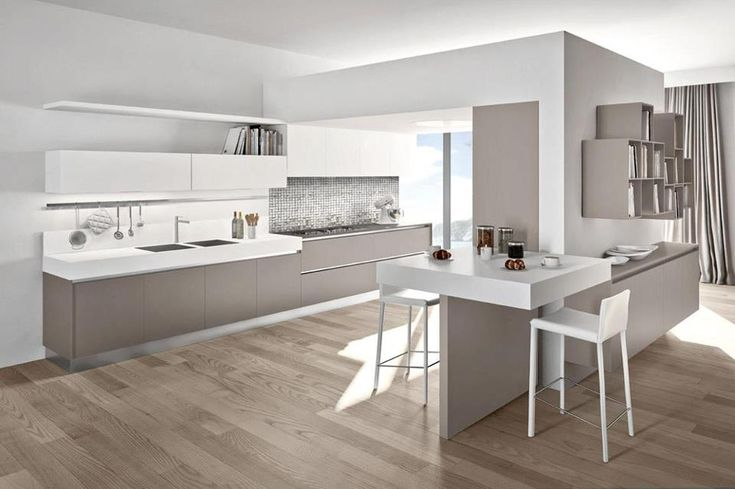 Cucina Arredo3 Plana progettazione casa funzionale, prodotti di arredamento Bassi Arredamenti