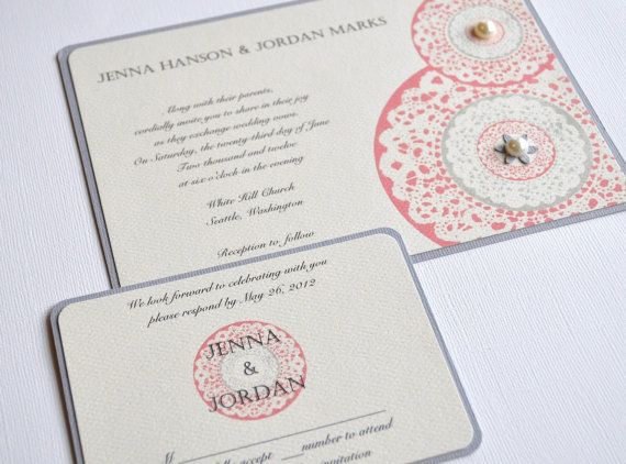 7 Unique Handmade Wedding Invitation Ideas - http://exweddinginvites.info/7-unique-handmade-wedding-invitation-ideas/