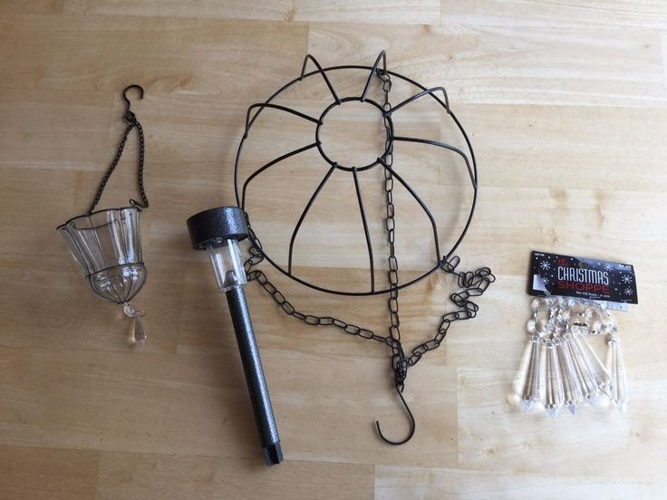 Turning a flower basket into a solar chandelier is easy and inexpensive.  You can do so much to personalize it for your own style. My original flower basket sol…