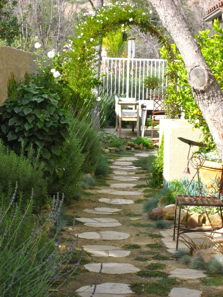 Side yard landscaping ideas pinterest and landscaping side for Pics of landscaped backyards