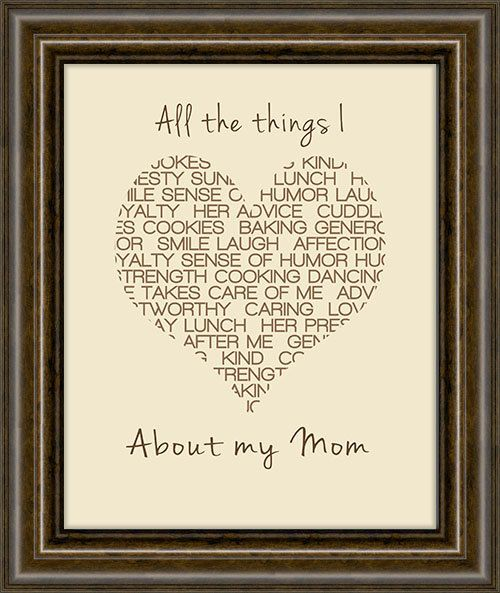 Personalized Christmas Gift  Gift For Mom  Gift by iNKYSQUIDSTUDIO, $16.00