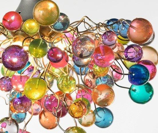 Pastello bolle appendere lampadari per ragazze di yehudalight