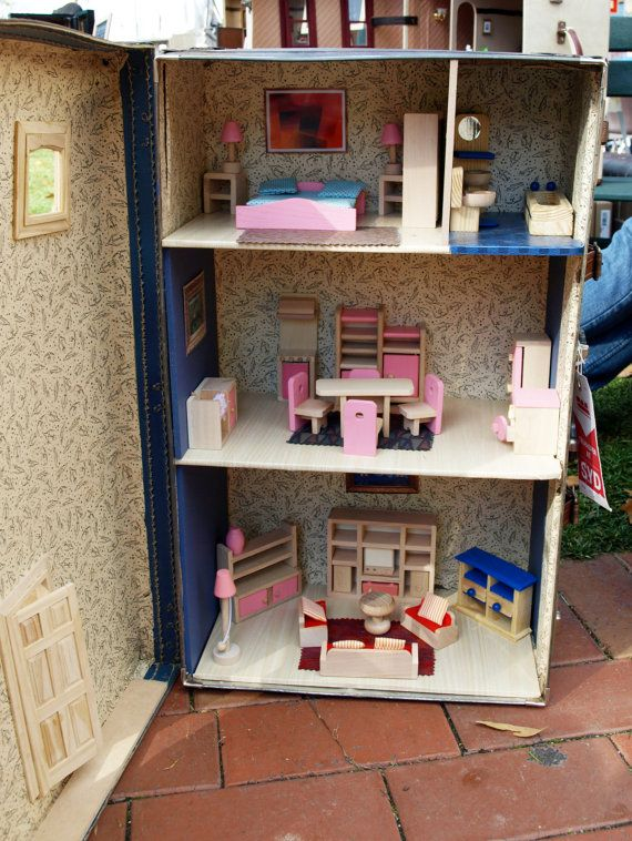 49 best DIY: ΚΟΥΚΛΟΣΠΙΤΑ images on Pinterest | Doll houses ...