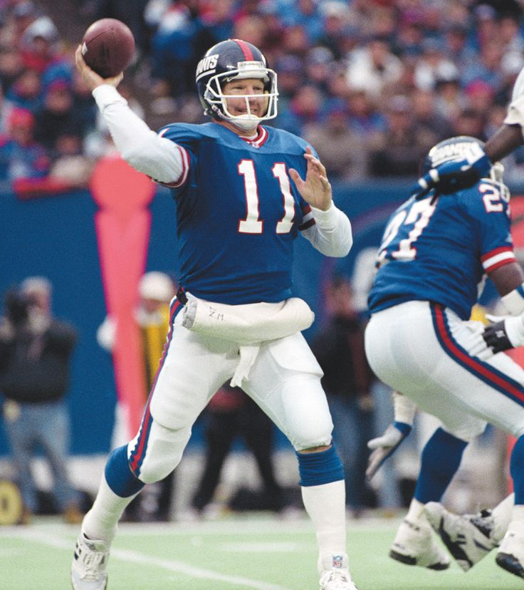 """Phil Simms (Super Bowl XXI) #12 Super Bowl result: New York Giants 39, Denver Broncos 20 Key stats: 22-of-25, 268 yards, three TDs, 25 rushing yards MVP points: 25.2 Simms completed a Super Bowl record 88 percent of his pass attempts, as the Giants rebounded from an early 10-7 deficit to score 26 straight points and remove all the drama in a game where New York was 9.5-point favorites. After being crowned MVP in the Rose Bowl, Simms became the first athlete to utter the famous phrase: """"I'm"""